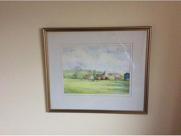 Marion Minton original watercolour