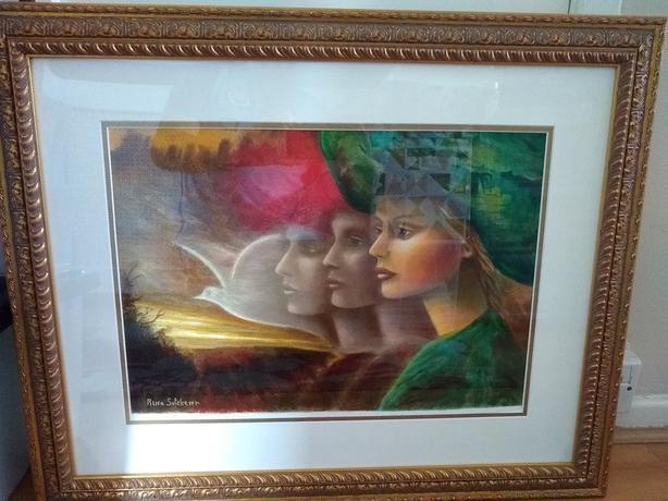 RINA SUTZKEVER 'DREAMS OF PEACE' ART
