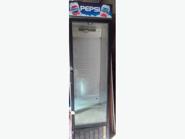 Pepsi Commercial Fridge