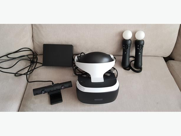 PSVR - Playstation VR Headset v.2 (new model) with Camera and 2 Move Controllers