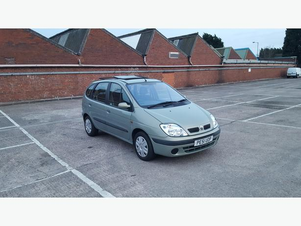 Automatic Senic 1.6, 5dr, 88000 miles, drive good, long mot very spacous