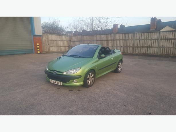Automatic 206cc convertable hard top electric roof, low mileage, drives great