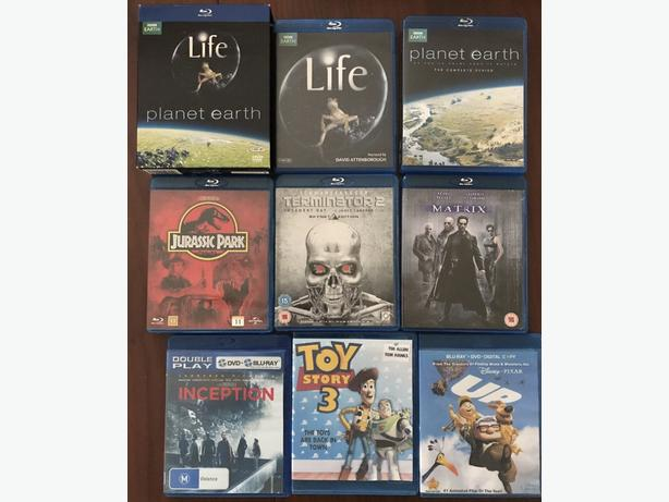 BLU-RAY Films & Nature Documentaries
