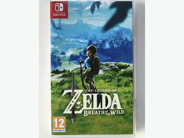 ZELDA Breath of the Wild BOTW for Nintendo Switch