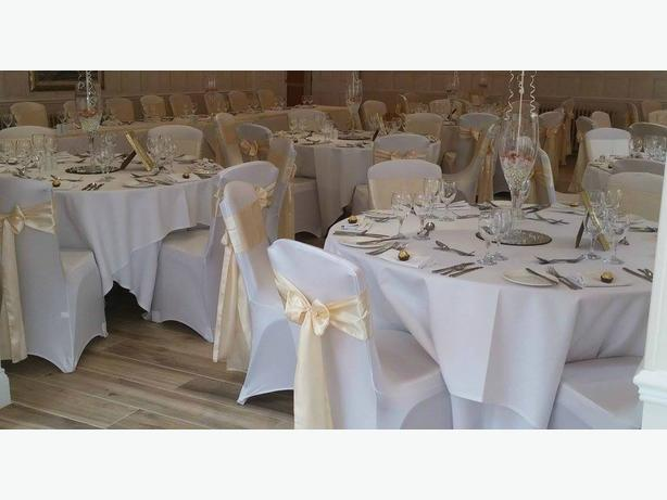 Chair cover hire and sash