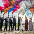 Enola gaye smoke flares/grenades