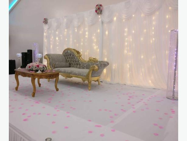 wedding sofa hire