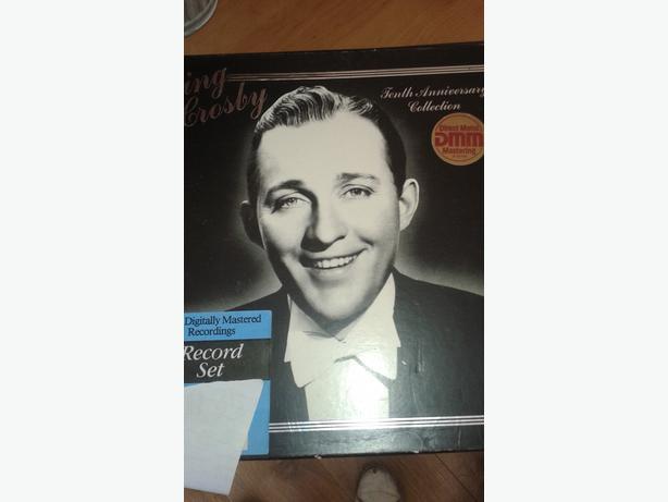 3 Record Set Bing Crosby