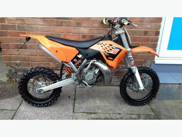 KTM 65 ROAD LEGAL LONG MOT 2015 MODEL
