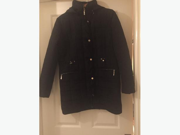 new size 12 black coat