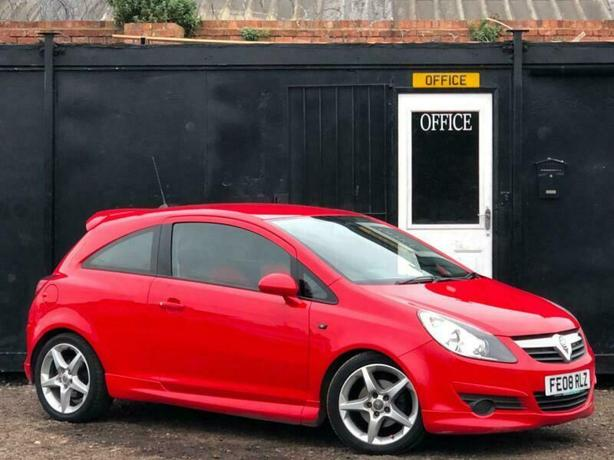 2008 VAUXHALL CORSA 1.7 CDTi SRi + LIMITED EDITION BODY KIT + EXTERIOR PACK