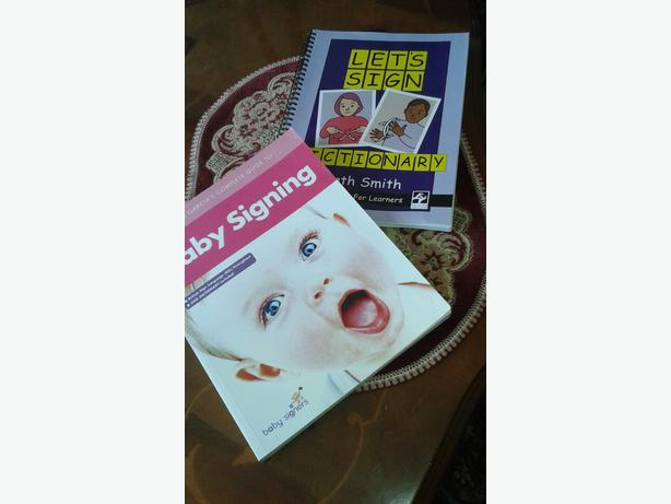 2  Sign Language books