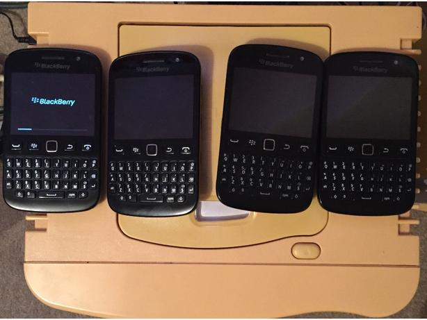 £15 4 BlackBerrys all working order
