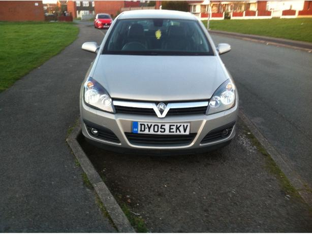 vauxhall astra 55 plate