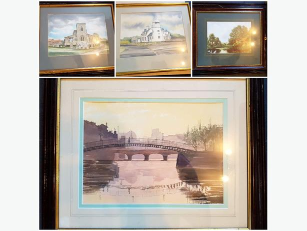 Framed Paintings & Pictures Job Lot