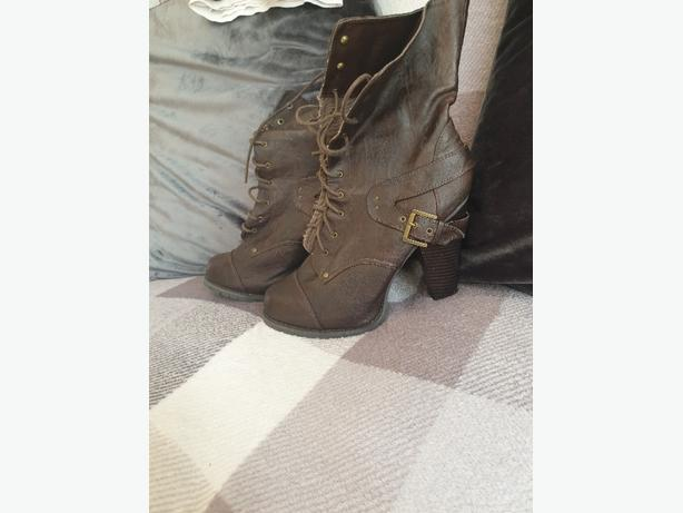 brown dorothy perkins boots size 7