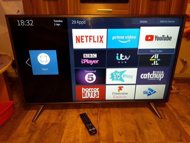 Image result for hisense 49 inch smart tv