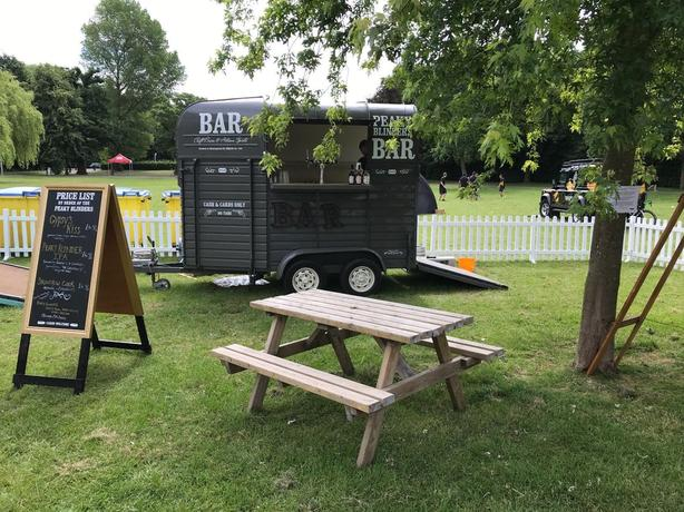 Peaky Blinders Catering Trailer bar