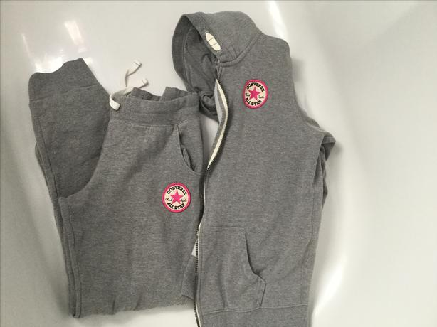 Girls converse tracksuit