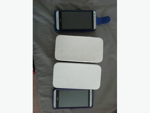 2 x HTC 620 desire phones