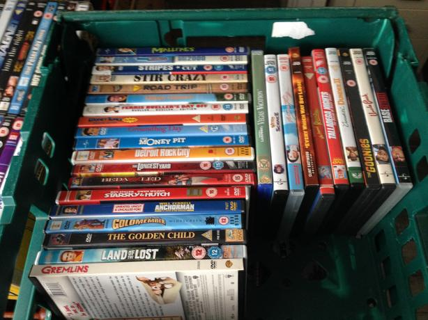 Joblot of comedy dvd's