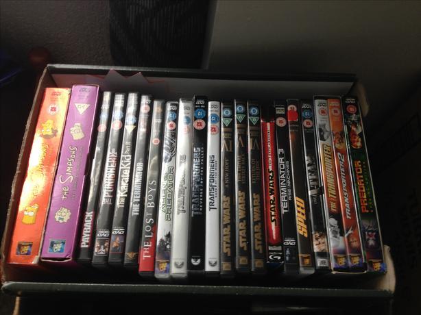 Job lot of mixed dvd's
