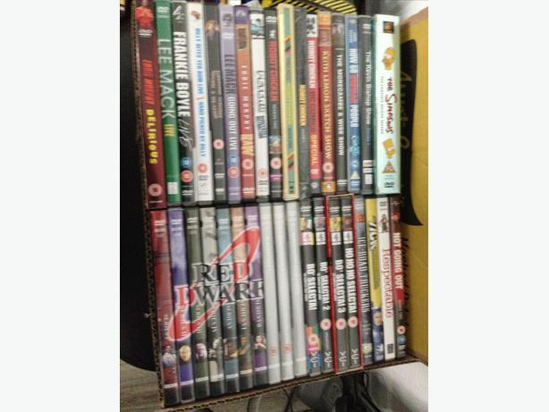 Job lot of comedy dvd's box 3