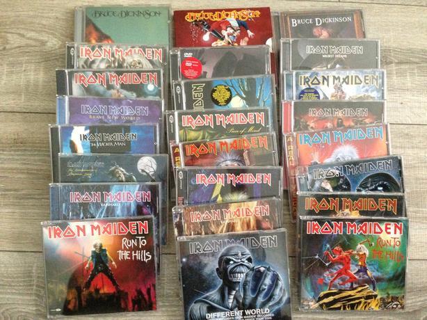 Job lot Iron Maiden cd's
