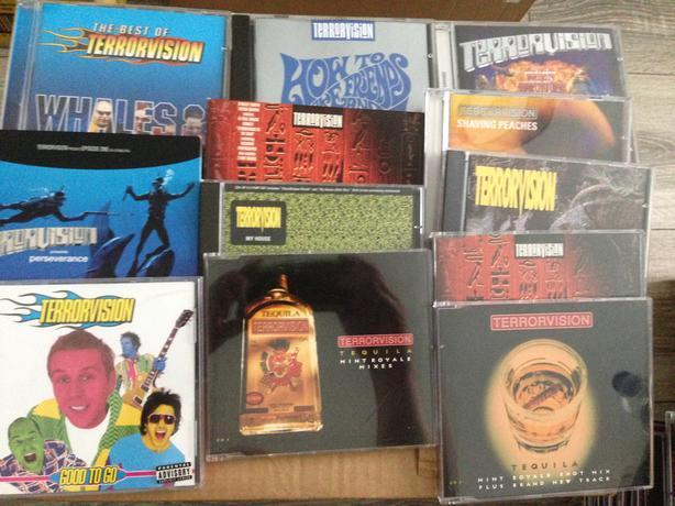 Terrorvision cd albums