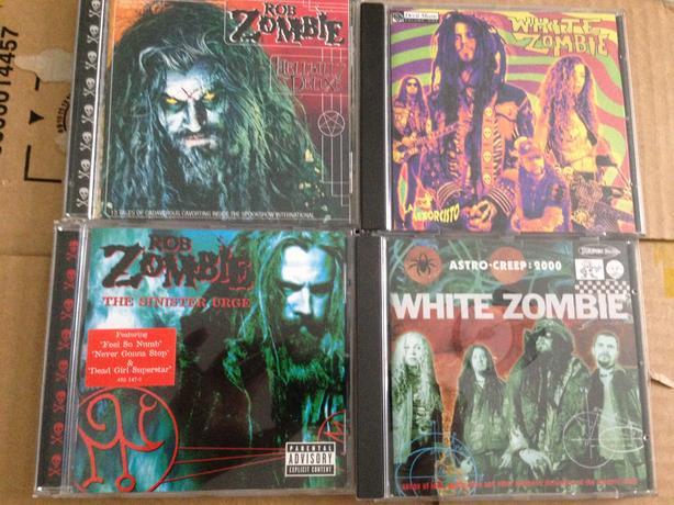 White Zombie cd's