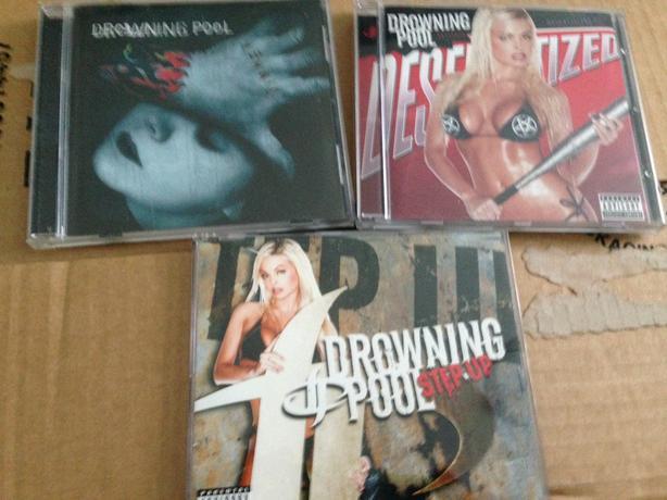 Drowning Pool cd's