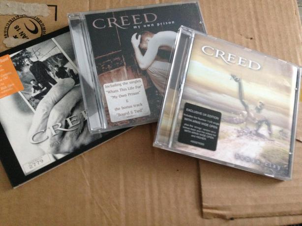 Creed cd's