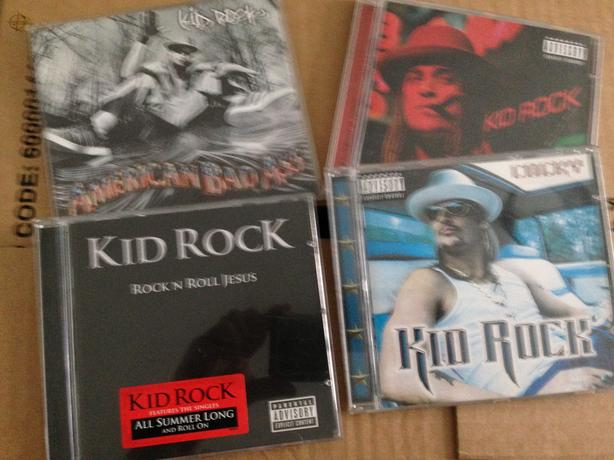 Kid Rock cd's