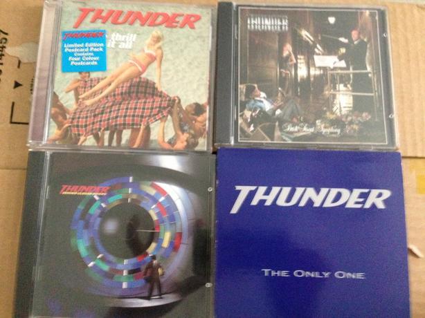 Thunder cd's