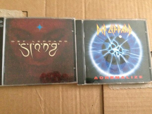 Def Leppard cd's