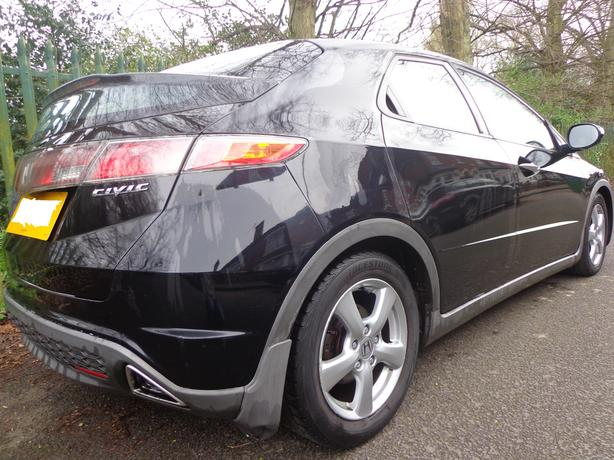 6 speed honda civic black 2007 2.2 diesel+mot oct+good runner+DRIVEAWAY