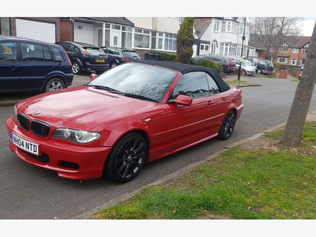 BMW 3 SERIES E46 318CI MSPORT CONVERTIBLE 2004