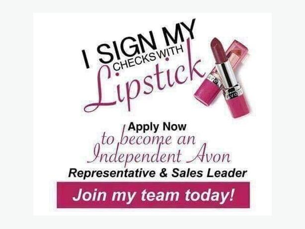 recuting Avon representative and sales leaders