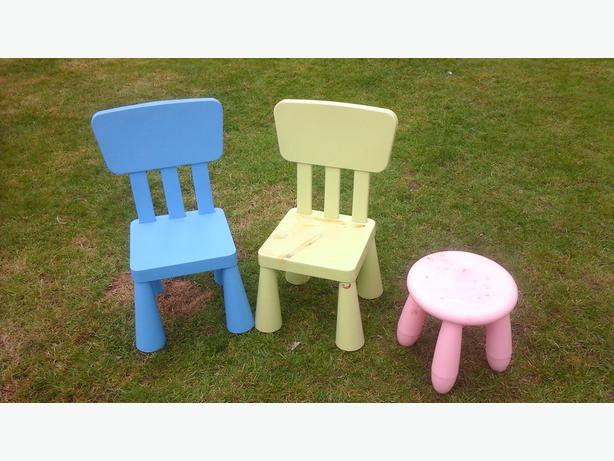 I kea chairs &stool