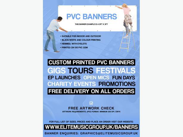 Custom Printed PVC Banners