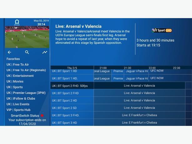 IPTV / Movies on Demand / Kodi / Android TV / IOS