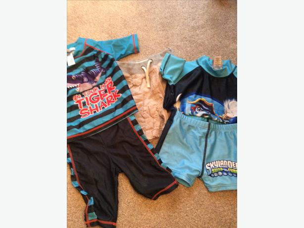 3-4 years swimsuits and shorts