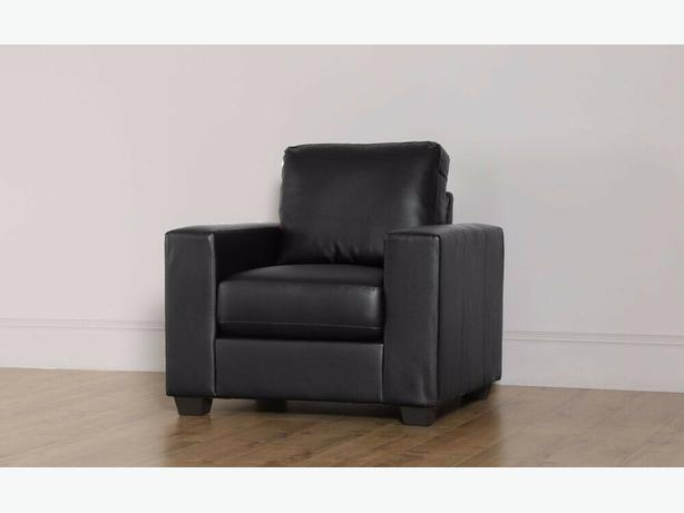 BRANDNEW LEATHER ARM CHAIR ONLY £90 SPECIAL OFFER