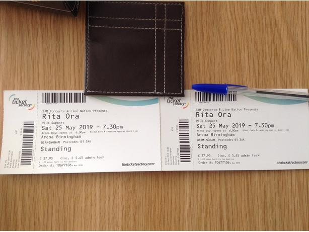 RITA ORA TICKETS.
