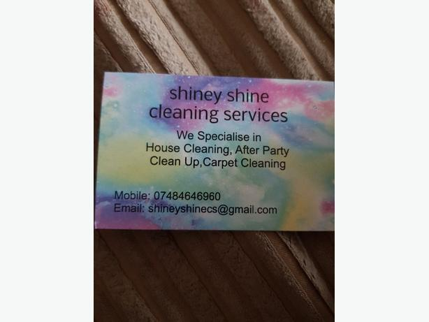 shiney shine cleaning services