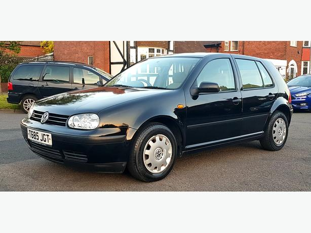 VOLKSWAGEN  GOLF 1.6 PETROL  1999 AUTOMATIC (100 K MILES)