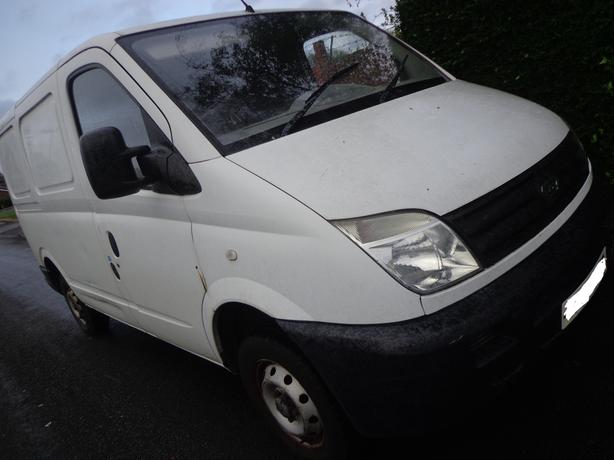 56 reg ldv maxus 2.5 diesel+mot+only 50k miles+good runner+needs a little tlc