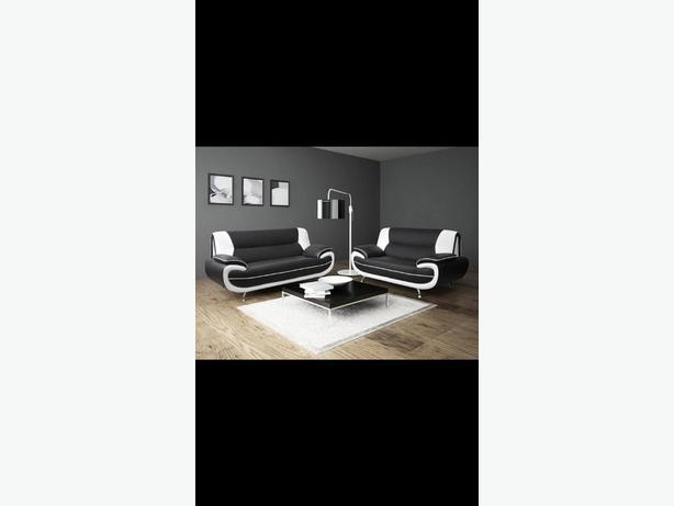 Palermo 3+2 leather sofa