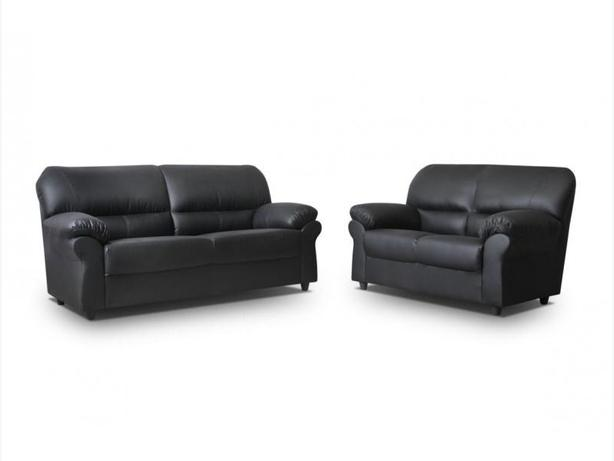 Candy 3+2 leather sofa