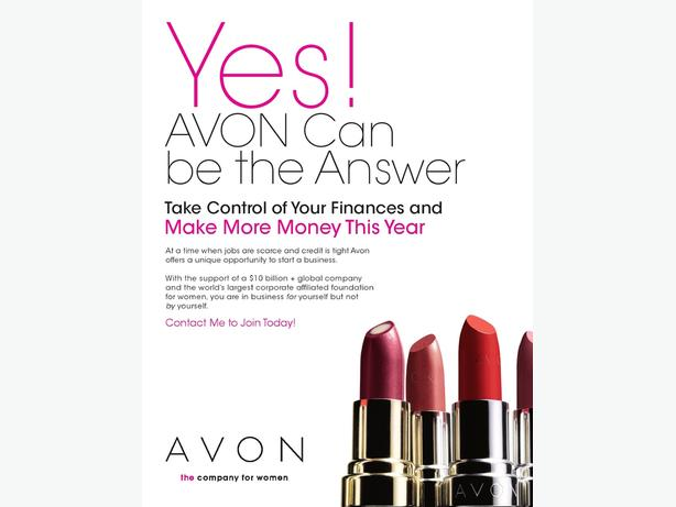 Avon Sales Representative wanted in your area!
